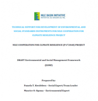 Disclosure: Environmental and Social Safeguards Documents for NBI's