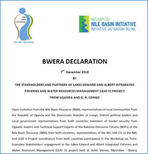 BWERA-DECLARATION - Transboundary Communities Engagement on LEAF II Project (07 Dec 2018)