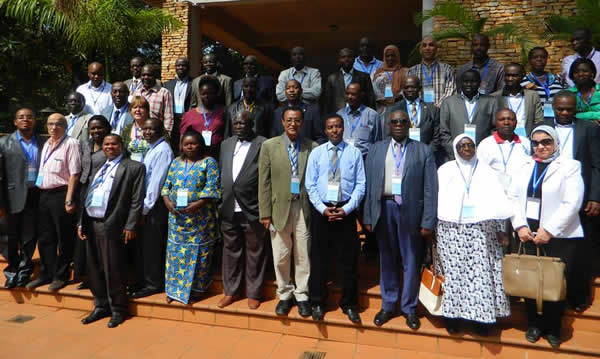 Satff, Board Members and In-Country experts of the Nile Basin Discourse. Kampala; Sept. 2015