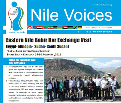 Eastern Nile Bahir Dar Exchange Visit (Egypt- Ethiopia- Sudan- South Sudan) - Nile Voices: Volume 17 | Issue 1