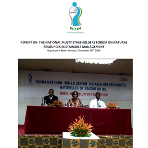 Report on the National Multi-Stakeholders Forum on Natural Resources Sustainable Management - Burundi