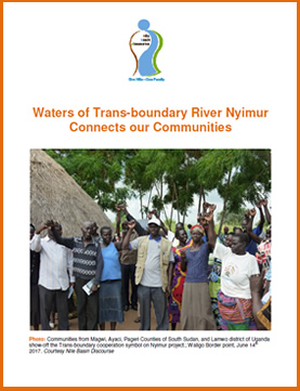 Waters of Trans-boundary River Nyimur Connects our Communities - Briefing Note
